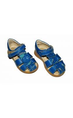 Sandale albastre Bisgaard, piele, marime 22