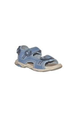 Sandale albastre Lurchi by Salamander, piele, marime 25