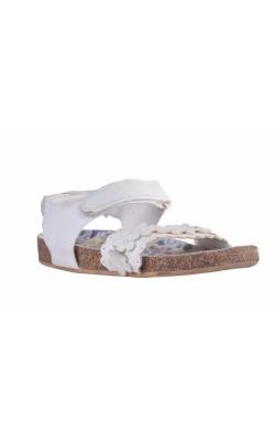 Sandale albe, marime 29