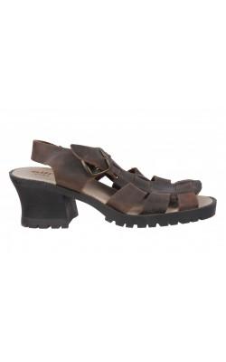 Sandale Allright, piele naturala, marime 38