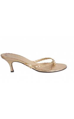 Sandale barete impletite Banana Republic, piele, marime 36