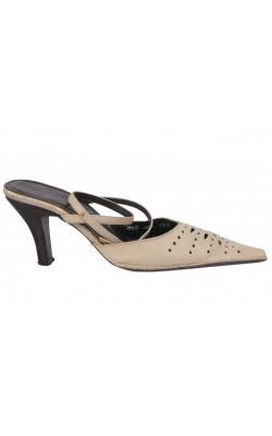 Sandale din piele intoarsa Bata, marime 37