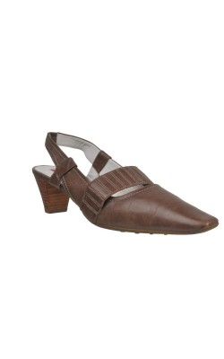 Sandale bej Hoegl, piele naturala, marime 38.5
