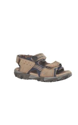 Sandale bej piele Superfit, marime 28