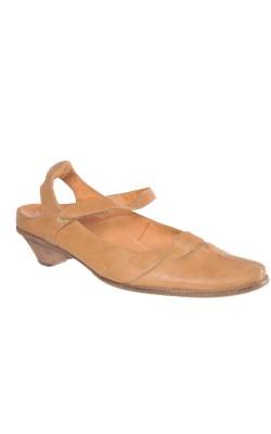 Sandale bej Think!, integral piele, marime 41, calapod lat