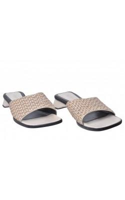 Sandale Bianco, piele naturala, marime 41