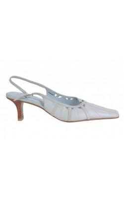 Sandale bleu Tamaris, piele naturala, marime 37