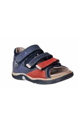 Sandale bleumarin din piele Bama, marime 24