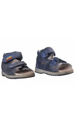 Sandale bleumarin piele naturala Killefeer, piele, marime 25