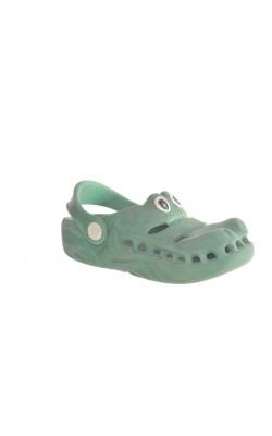 Sandale cauciuc crocodil, marime 26/27