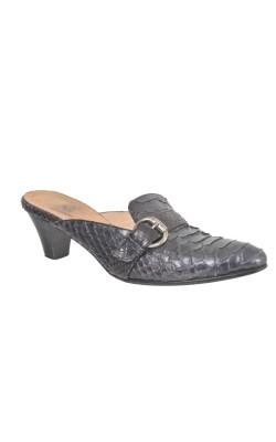 Sandale C&C, piele sarpe, marime 40