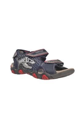 Sandale dinozaur cu led Geox Respira, marime 35