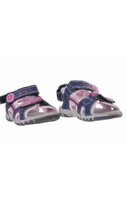 Sandale cu flori roz Lupilu, marime 27