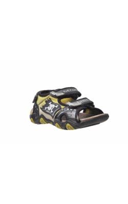 Sandale cu led Geox, piele naturala, marime 28