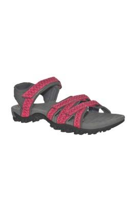 Sandale dama marime 41, textil, latime ajustabila