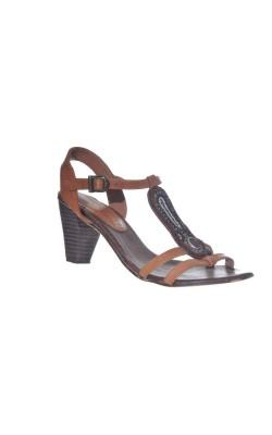 Sandale din piele Adriana del Nista, marime 38