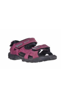 Sandale din piele intoarsa Ecco, marime 31