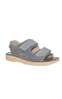 Sandale din piele Kickers, marime 32