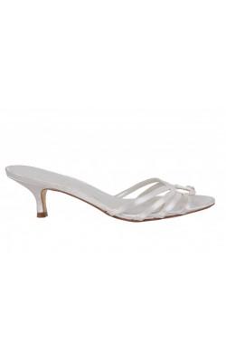 Sandale Dyelights, piele si textil satinat, marime 38