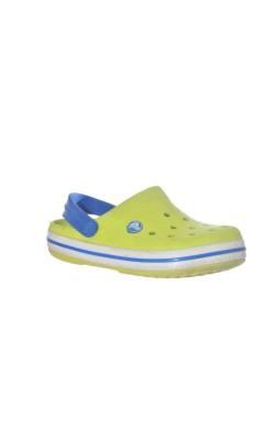 Sandale galbene Crocs, marime 31/32