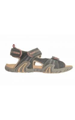 Sandale Geox Respira, piele bleumarin, marime 35