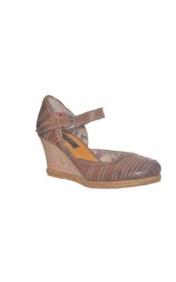 Sandale Globus, piele naturala, marime 38.5