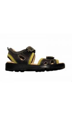 Sandale gri Bundgaard, piele, marime 33