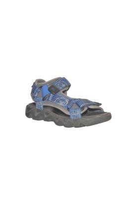 Sandale gri cu albastru Elefanten, marime 28