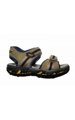 Sandale gri cu bleumarin SuperFit, marime 29