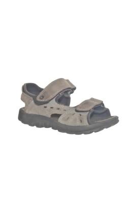 Sandale gri Elefanten, piele, marime 30