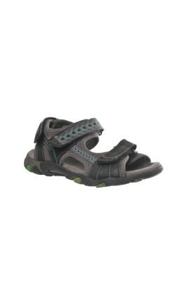 Sandale gri piele Superfit, marime 33