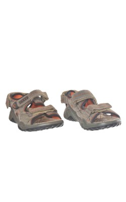 Sandale gri Primigi, piele naturala,  marime 32