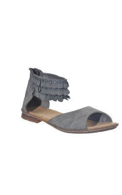 Sandale gri Rieker, foarte usoare, marime 40