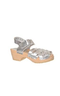 Sandale H&M, piele, marime 24.5