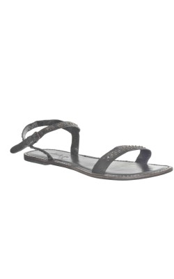 Sandale Long Tall Sally, piele naturala, marime 42.5