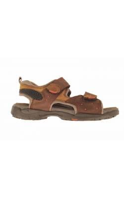 Sandale maro Elefanten, piele naturala, marime 35