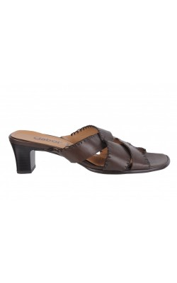 Sandale maro Gabor, piele naturala, marime 37.5