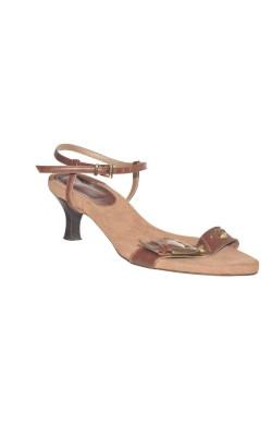 Sandale Moda di Fausto, piele, marime 40