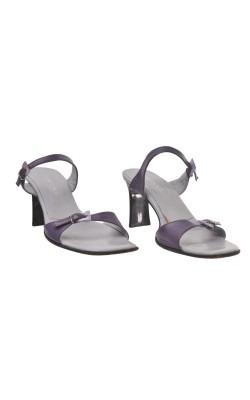Sandale mov piele Mary Claud, marime 39