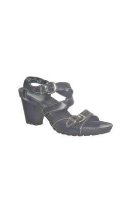 Sandale negre din piele Timberland, marime 38