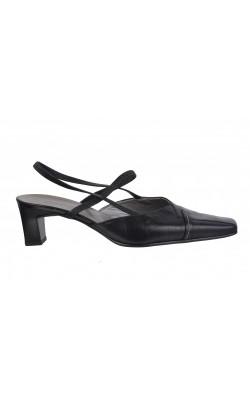 Sandale negre Gabor, piele naturala, marime 39