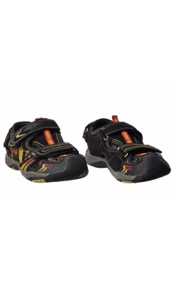 Sandale negre semi-inchise Bobbi Shoes, marime 29
