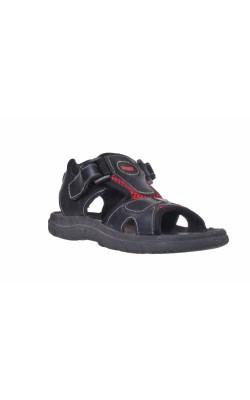 Sandale negre sport, marime 28