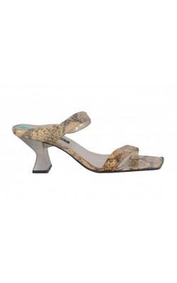 Sandale Nine West, piele naturala animal print, marime 39