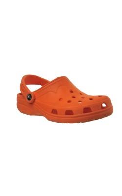 Sandale oranj Crocs, marime 35-36