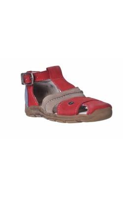 Sandale piele Aster, anti-torsion, anti-choc, marime 23