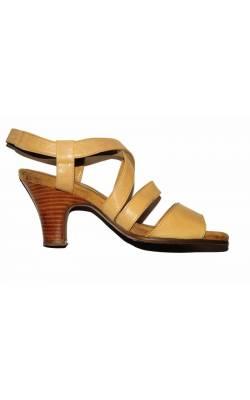 Sandale piele bej Aerosoles, marime 40.5