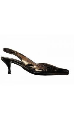 Sandale piele decupata BDK, marime 38