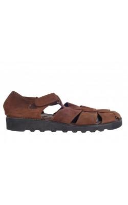 Sandale piele intoarsa St.John's Bay, marime 38.5
