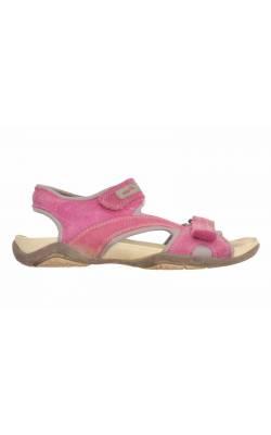 Sandale piele intoarsa SuperFit, marime 37